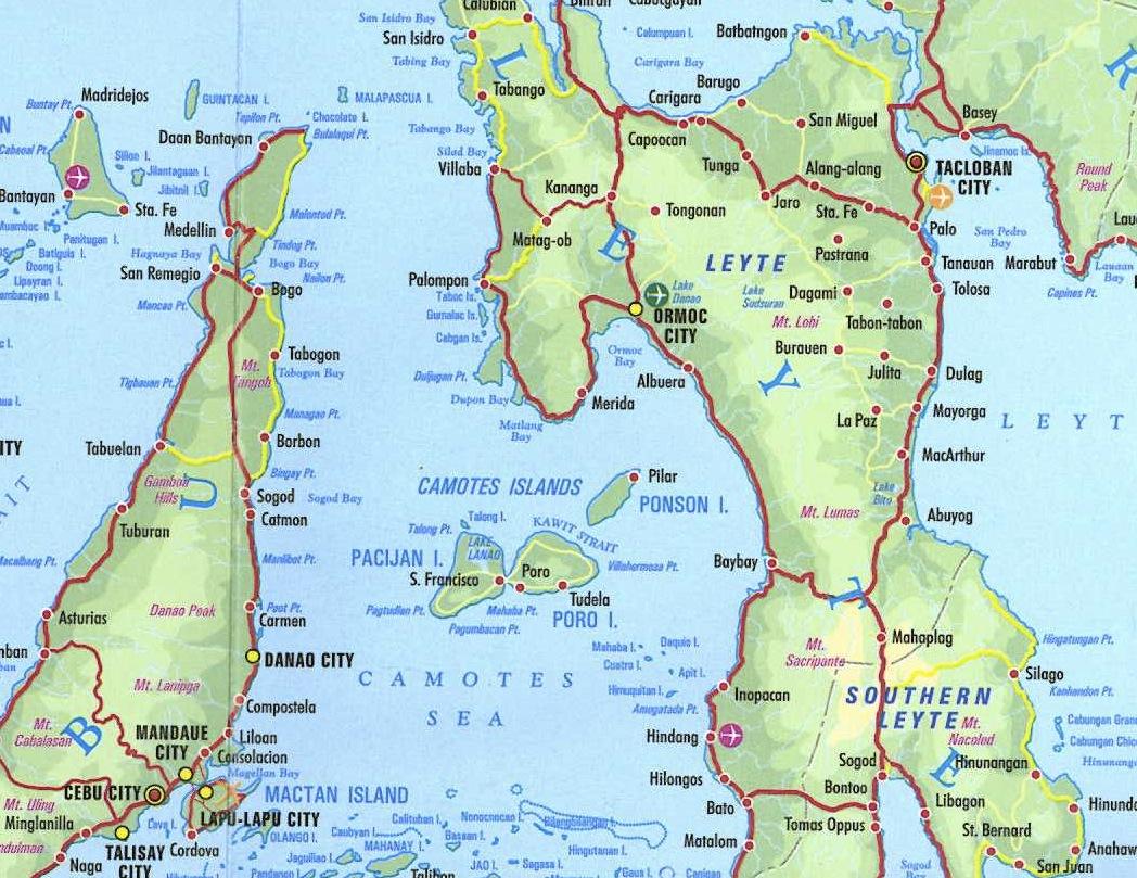 Kalanggaman Calanggaman Island Philippines Leyte  winairtravel
