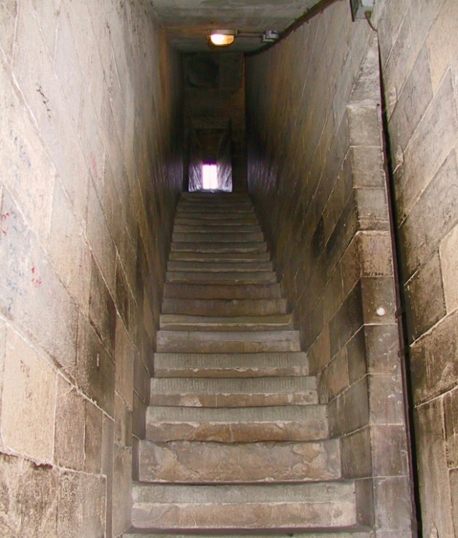 130-1328 - Firenze - Some of 414 Steps Inside Giotto's Campanile-1